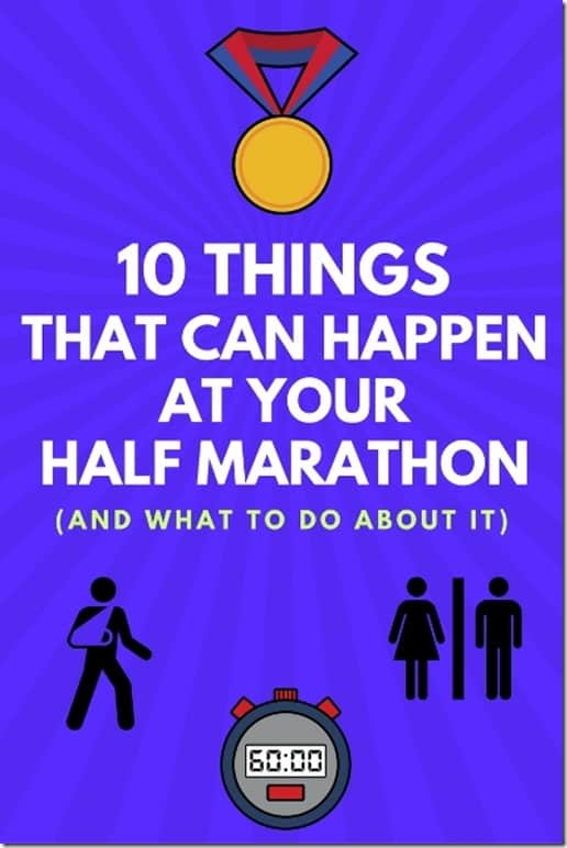 10 things that can happen at your half marathon