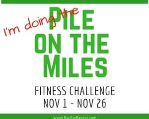Pile on the Miles Challenge 2016
