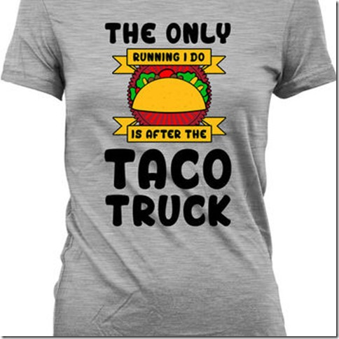 running after taco truck