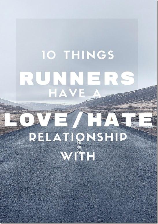 love hate runner blog