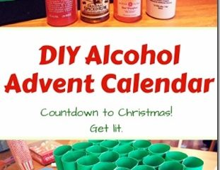 DIY Alcohol Advent Calendar