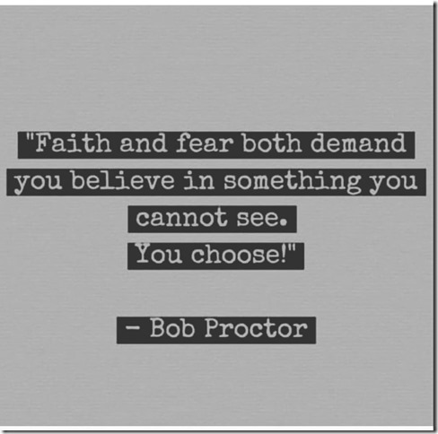 faith and fear