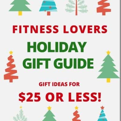 Fitness Gifts For $25 or Less