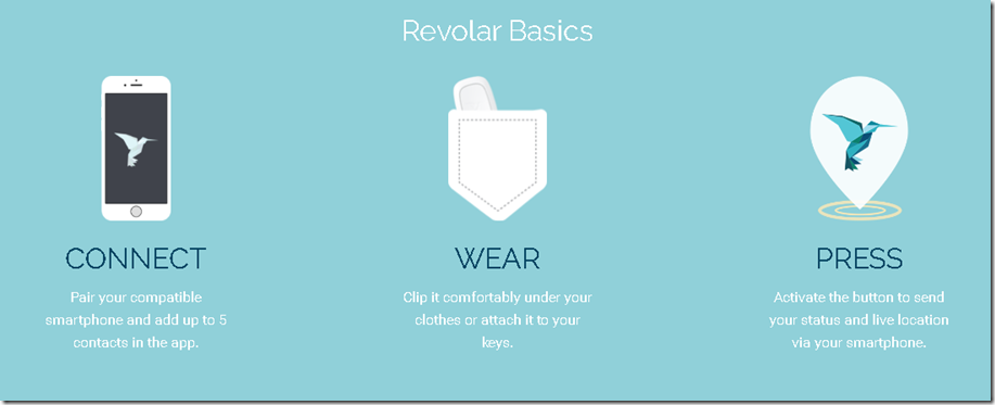 revolar runner safety device
