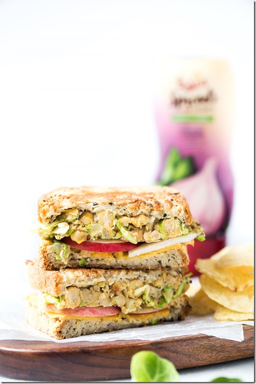 sabra spread grilled cheese
