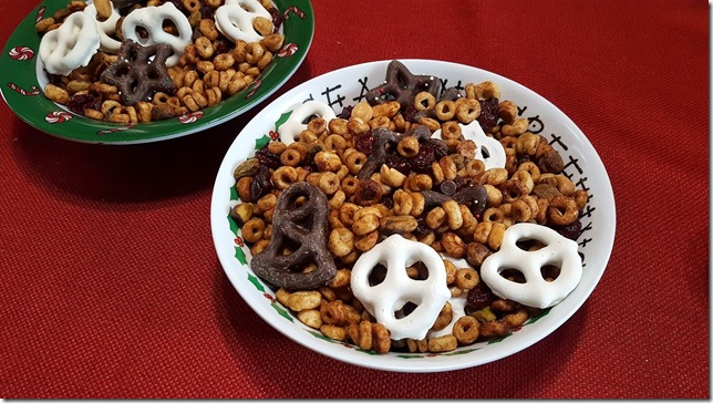 cheerios trail mix