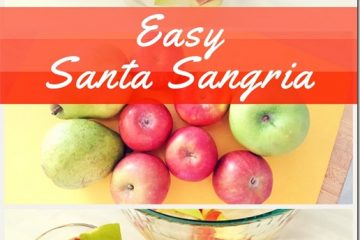 Easy Holiday Sangria and Protein PB?