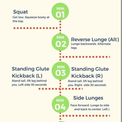 10 Minute Booty Workout