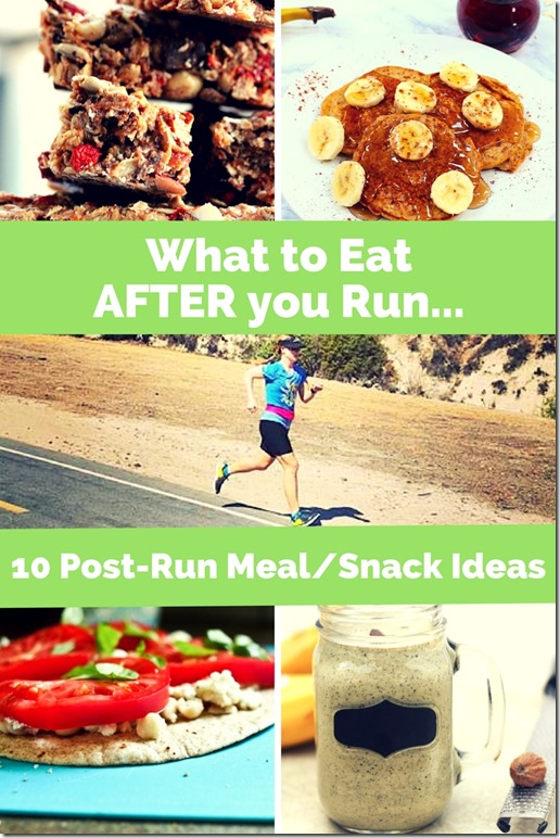 10 Post-RunFuel Ideas