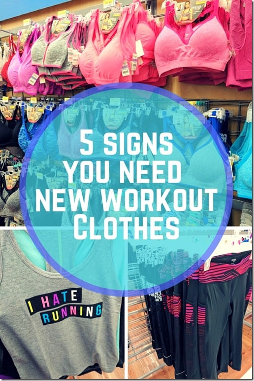 5 signsyou need new workout gear