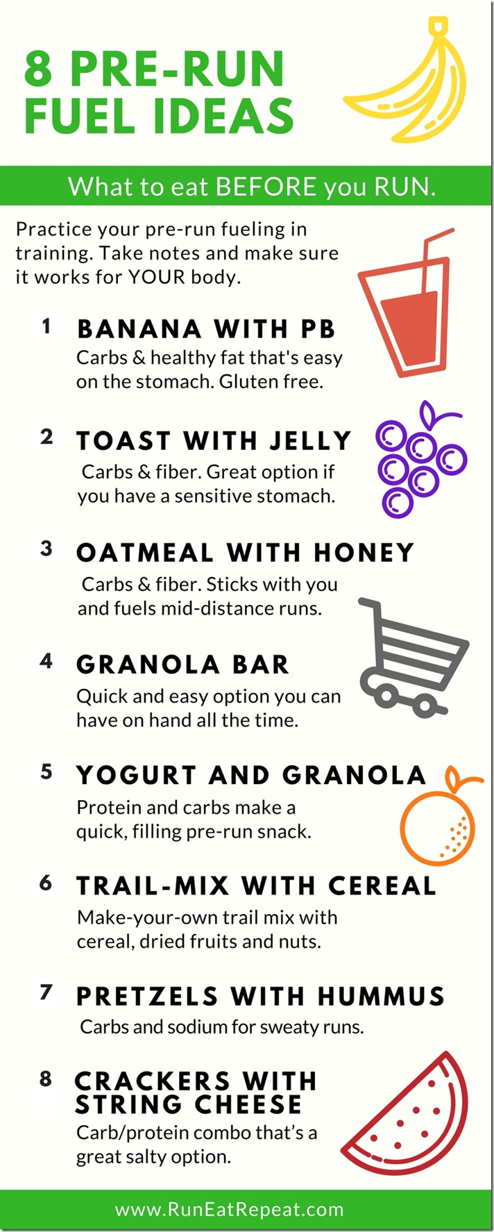 8 Pre-run fuel ideas