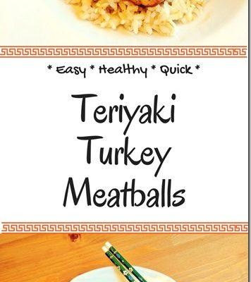 Easy Teriyaki Turkey Meatballs Recipe