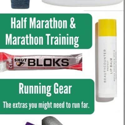 Running Gear for Marathon and Half Marathon Training