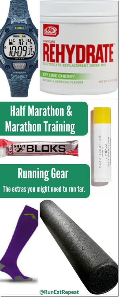Half Marathon & Marathon Training Gear
