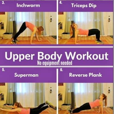 No Equipment Arms Workout for Runners