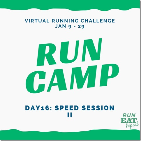 Run Camp Day 16