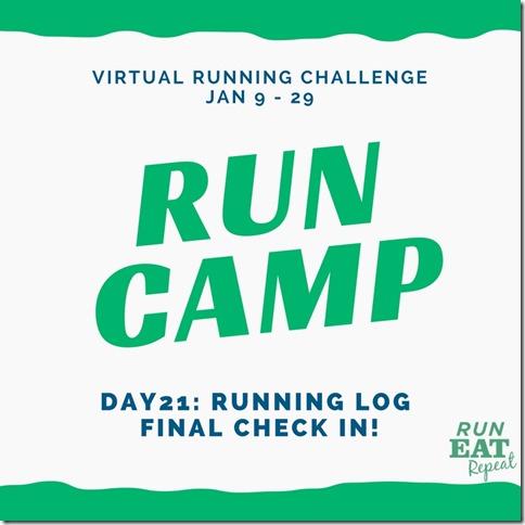 Run Camp Day 21
