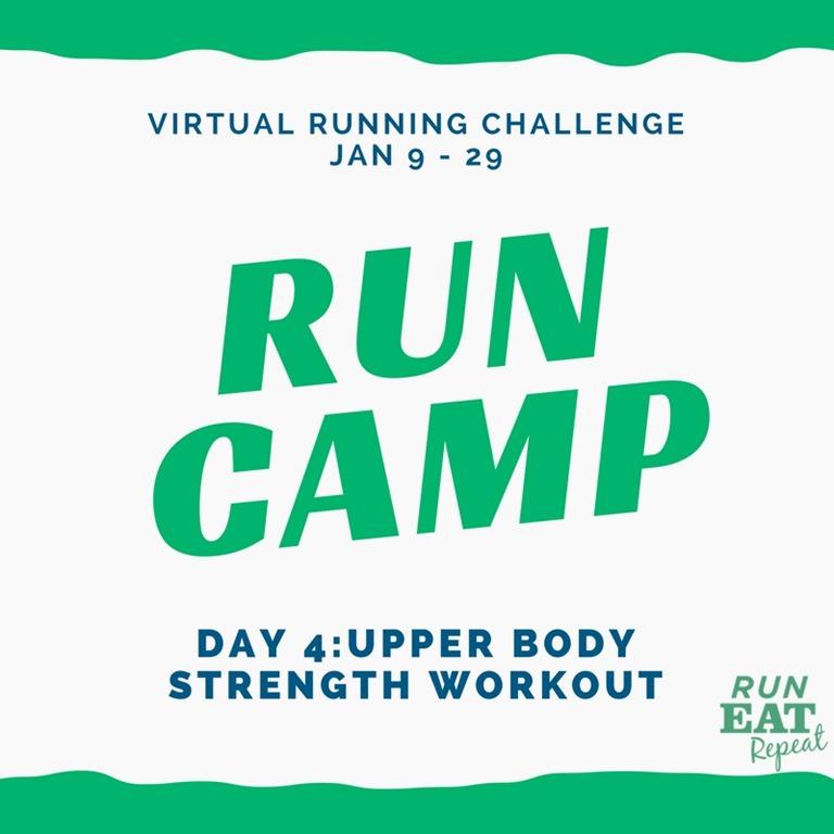 Run Camp Day 4 Strength Training
