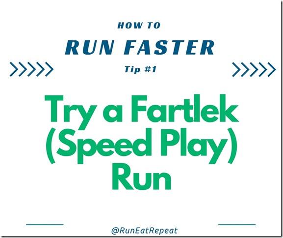 Run faster tip 1