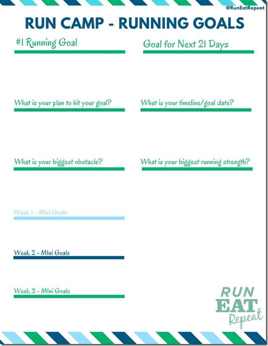 Running Goal
