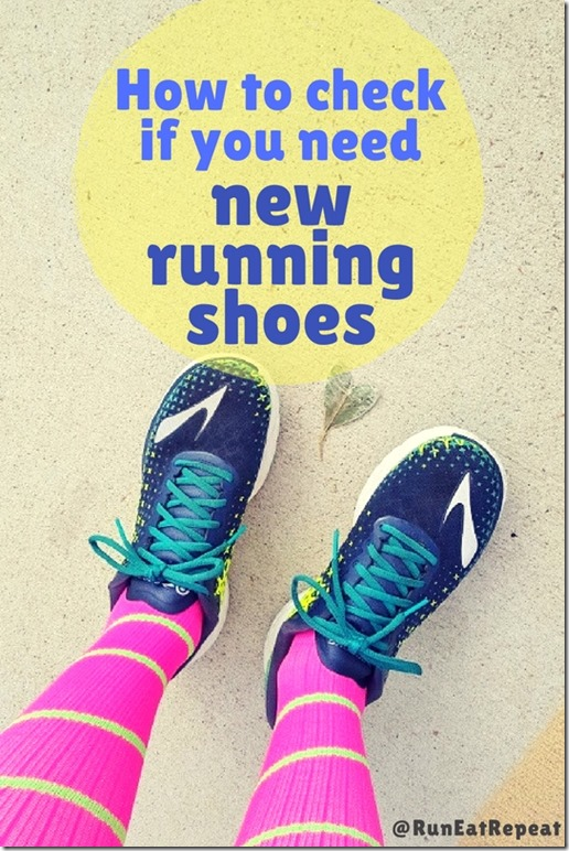 how to check running shoes