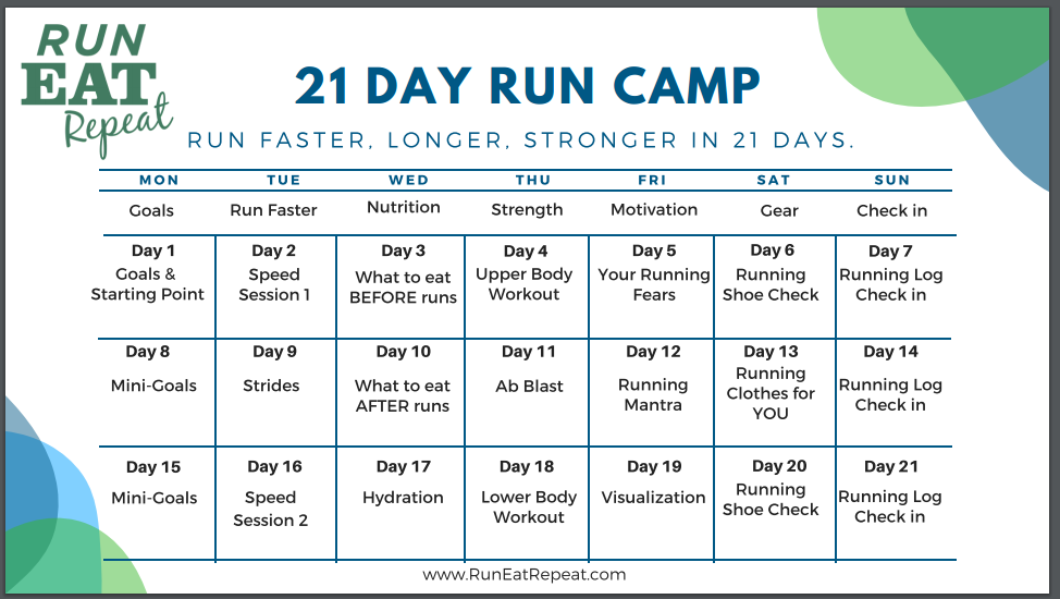 run camp calendar