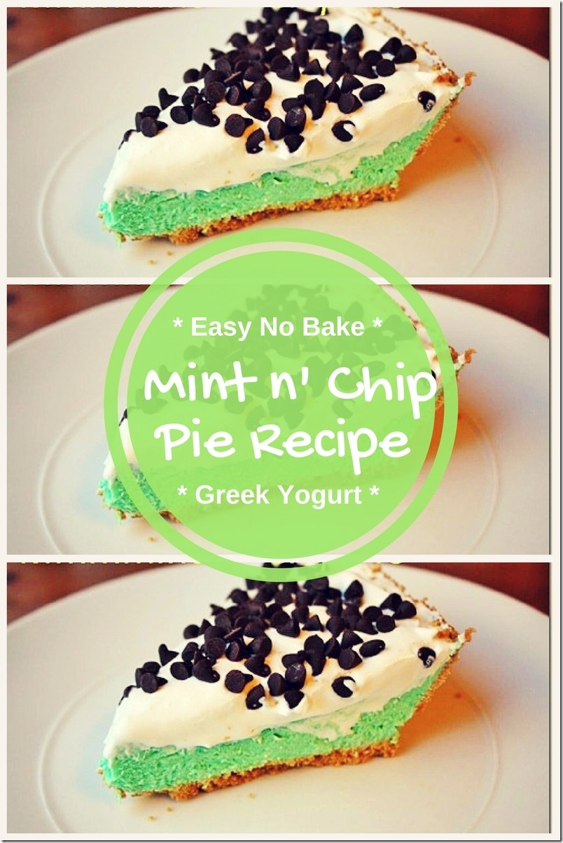 easy mint n chip pie recipe