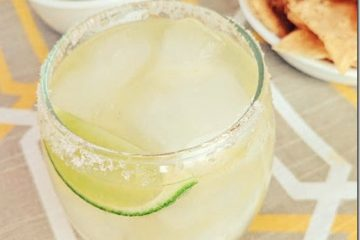 Super Easy Skinny Margarita Recipe
