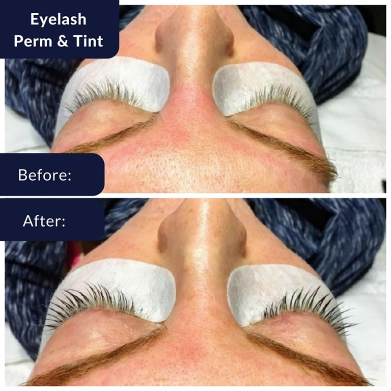 Eyelash extensions versus eyelash perm and tint run eat repeat eyelash perm before and after 1 solutioingenieria Gallery