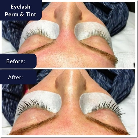 eyelash perm before and after 1