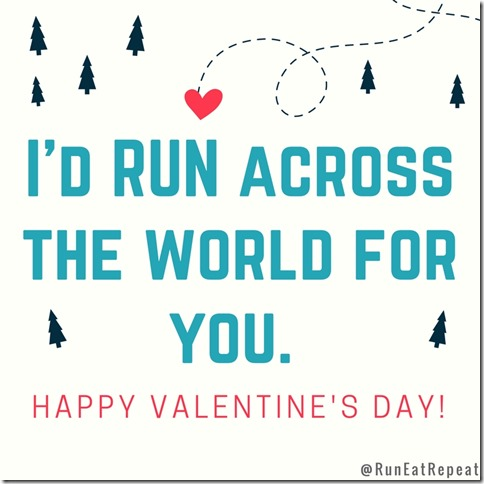 run across the world valentine