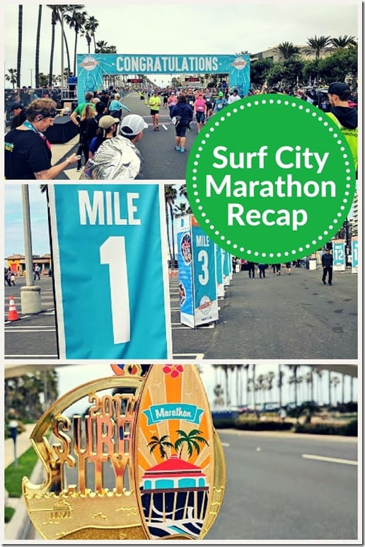 surf city marathon results
