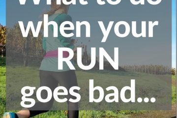 When Your Long Run Goes WRONG
