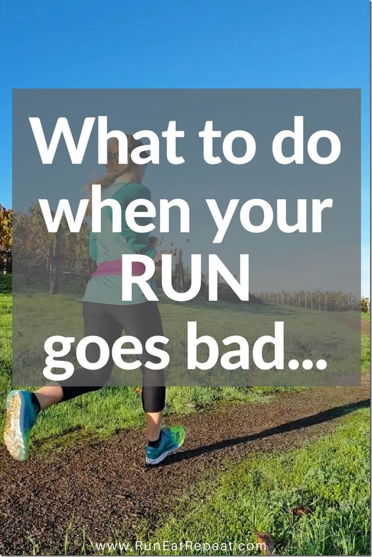 what to dowhen your long run goes bad