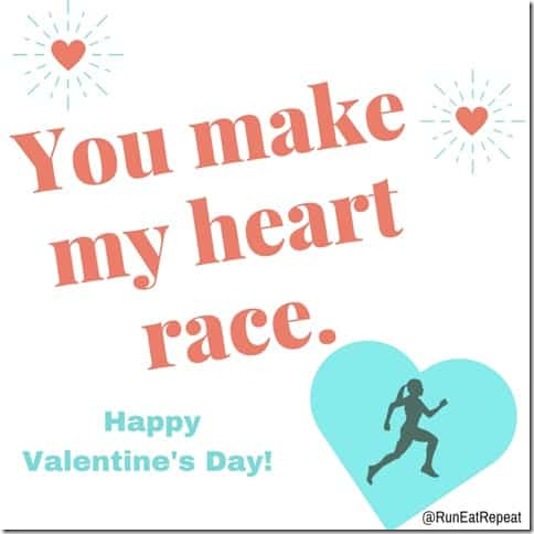 you make my heart race valentine