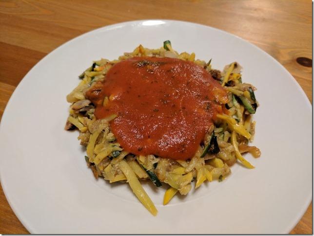 zucchini pasta 1