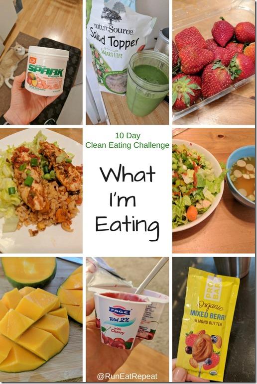 10 Day Clean Eating Challenge Recap Run Eat Repeat