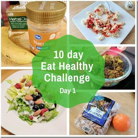 Healthy Eating Challenge day 1 (3)