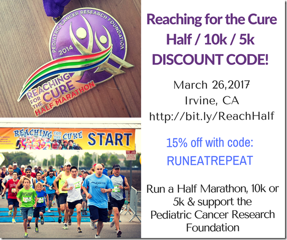 Reaching for the Cure Half Marathon