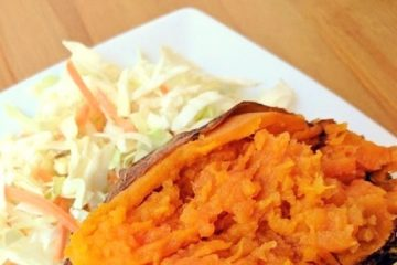 """""""Baked"""" Sweet Potatoes in the CrockPot"""