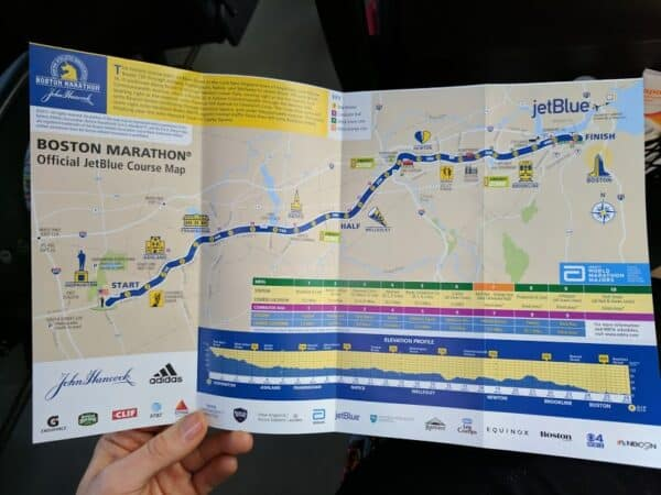 Boston Marathon Race Course