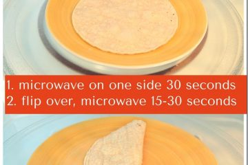 How to Make Hard Taco Shells in the Microwave