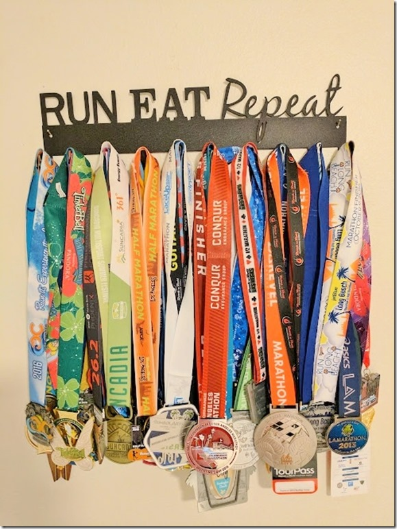 run eat repeat medal hanger (496x662)