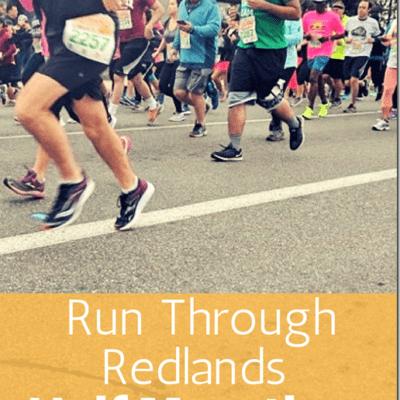 Redlands Half Marathon Results and Recap