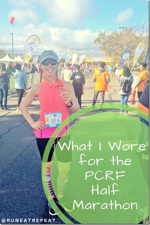 what i wore running gear pcrf half marathon