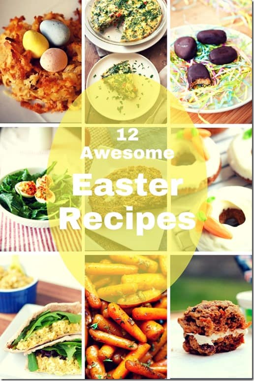 12 best easter recipes