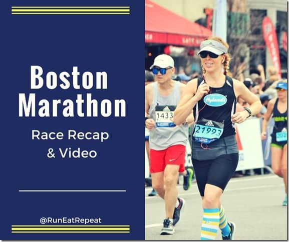Boston Marathon race recap