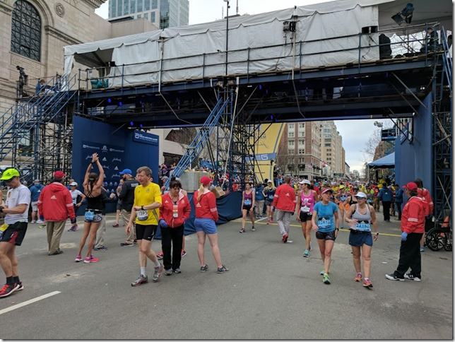 Boston Marathon race results 48