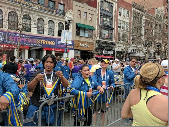 Boston Marathon race results 49