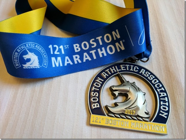 Boston Marathon race results 55
